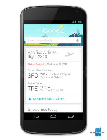 Google Nexus 4 specs - PhoneArena