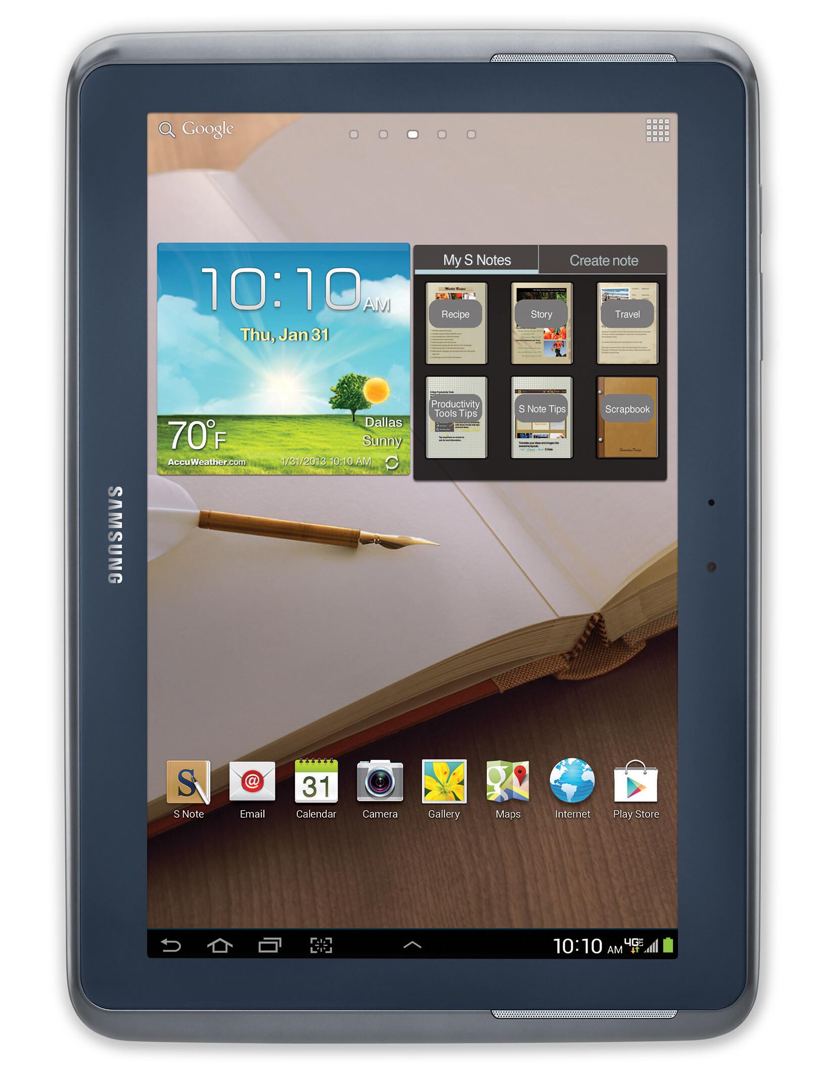 Samsung Galaxy Note 10 1 Lte Specs