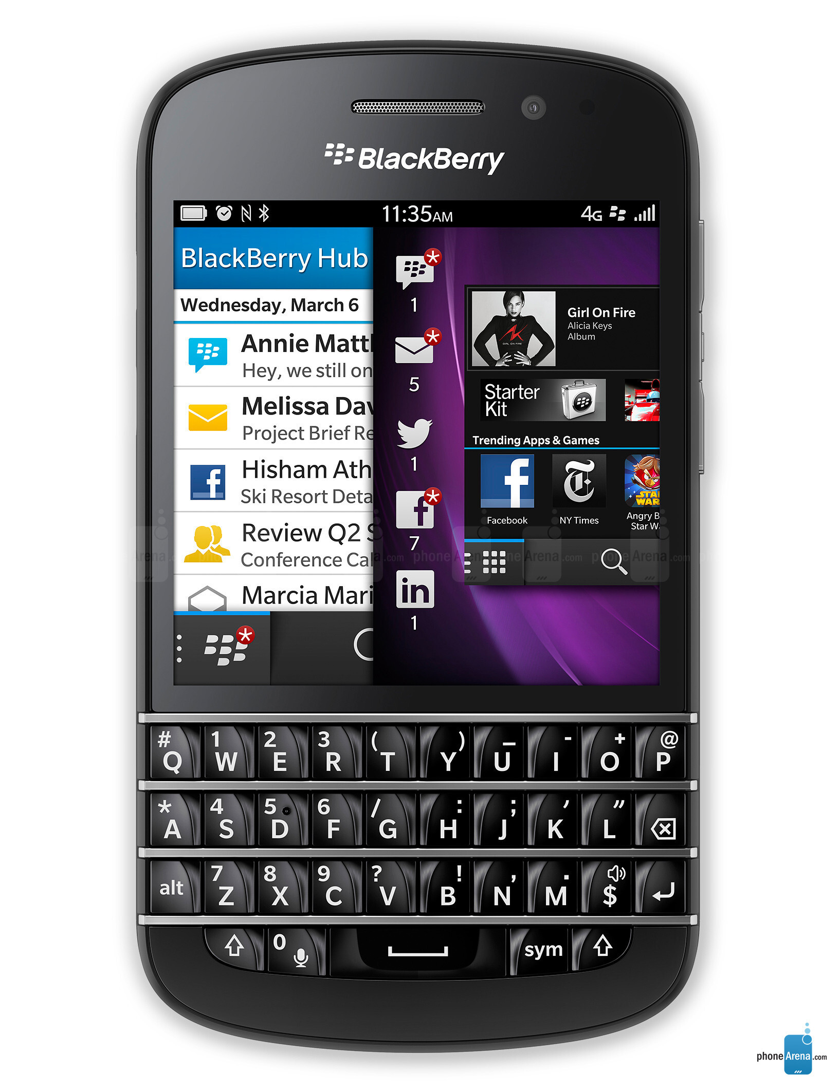 BlackBerry Q10 specs