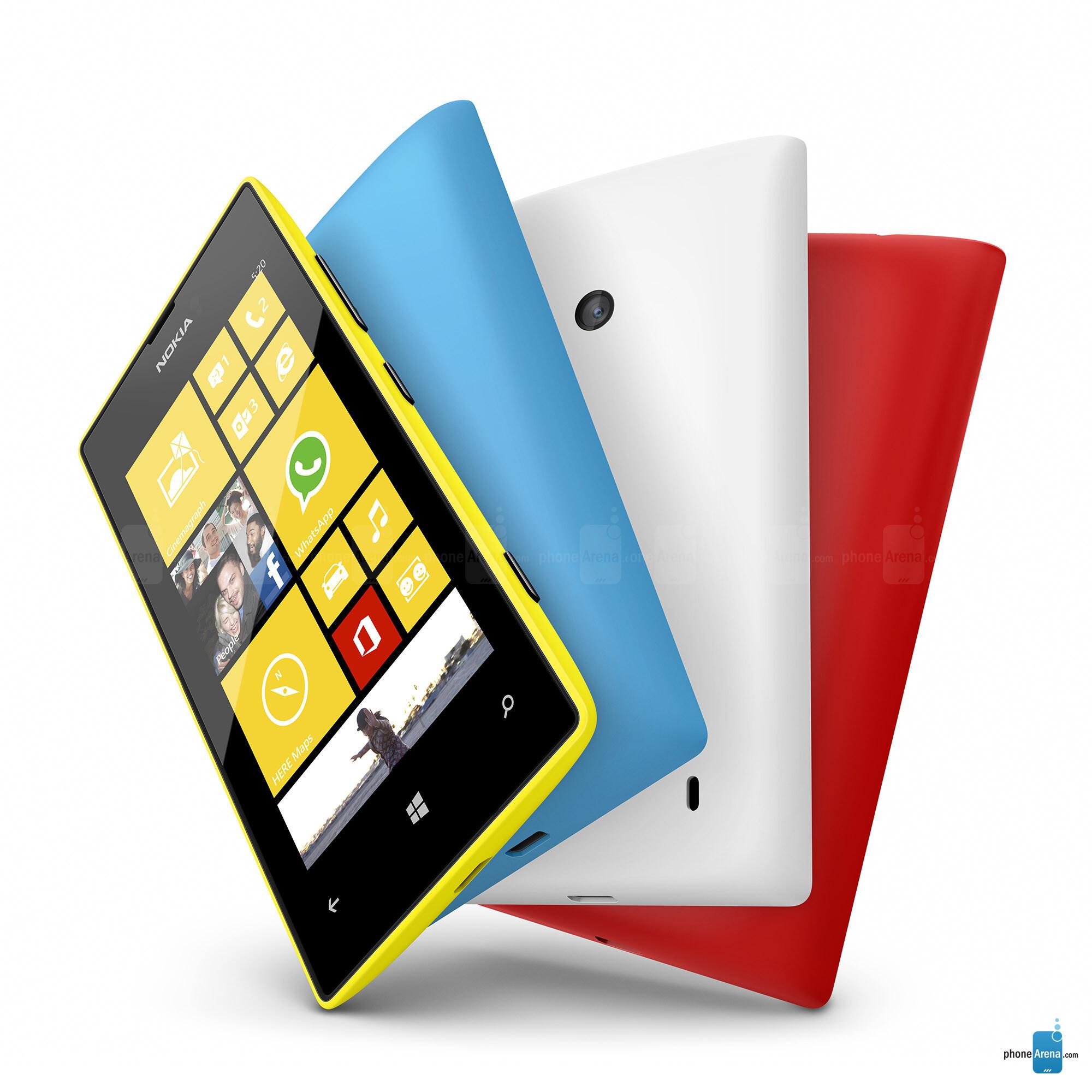 Nokia Lumia 520 specs
