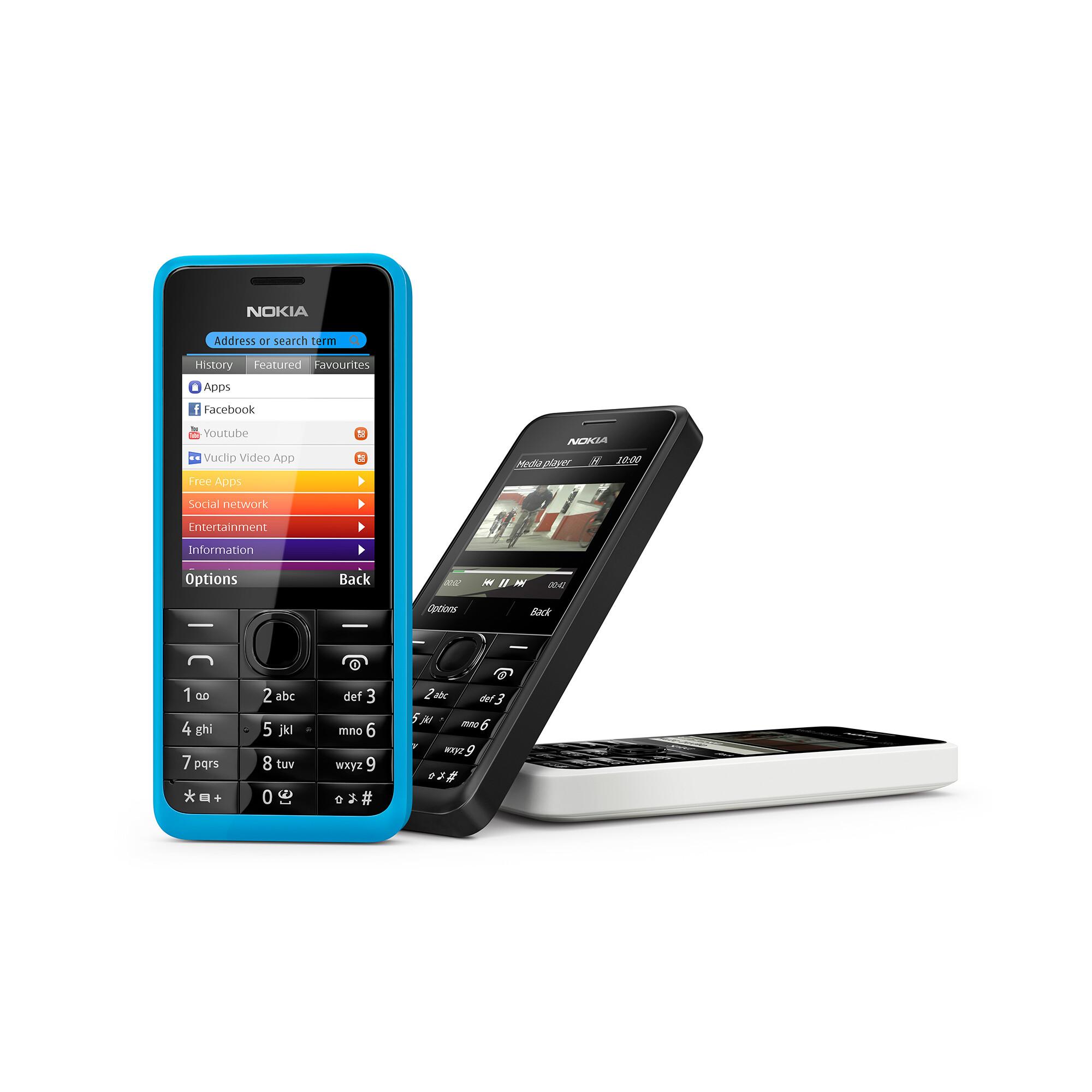 Nokia 301 specs