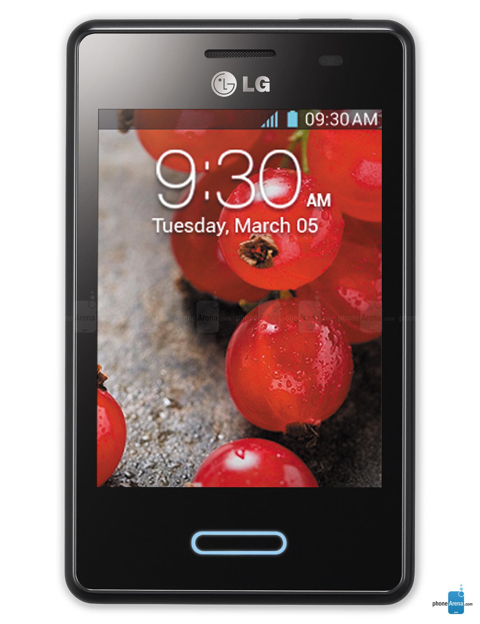 Lg Optimus E L1 Ii E410 Black L3 Photos Rh Phonearena Com E410i Specification E430