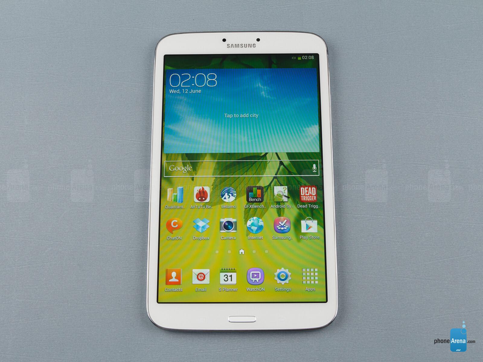 Samsung Galaxy Tab 3 8-inch specs