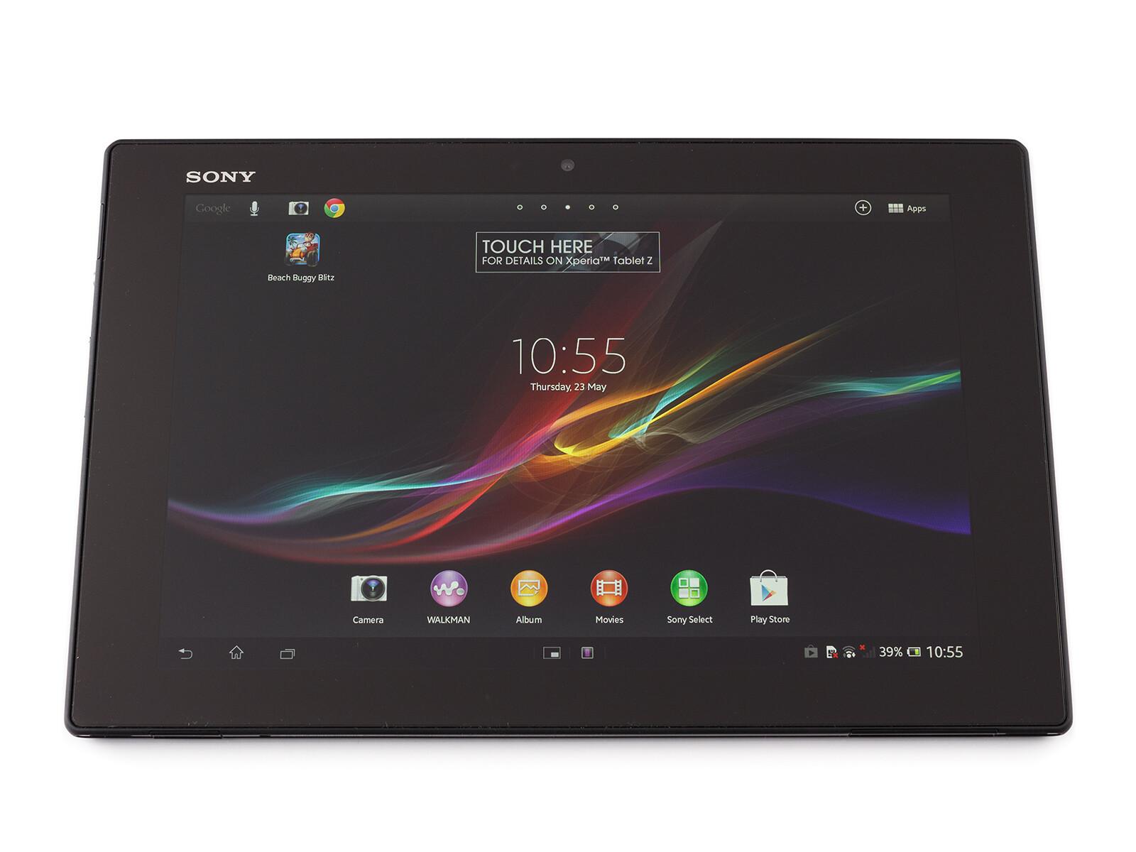 Sony Xperia Tablet Z specs