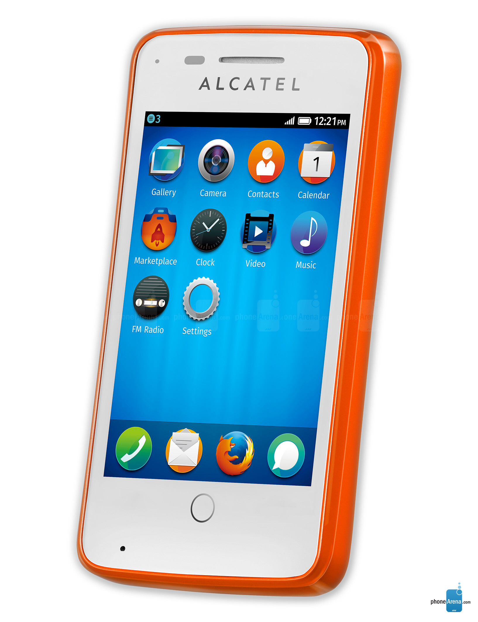 Alcatel OneTouch Fire specs