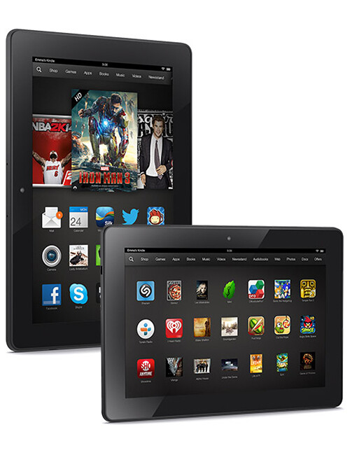 Amazon Kindle Fire HDX 8.9 Features