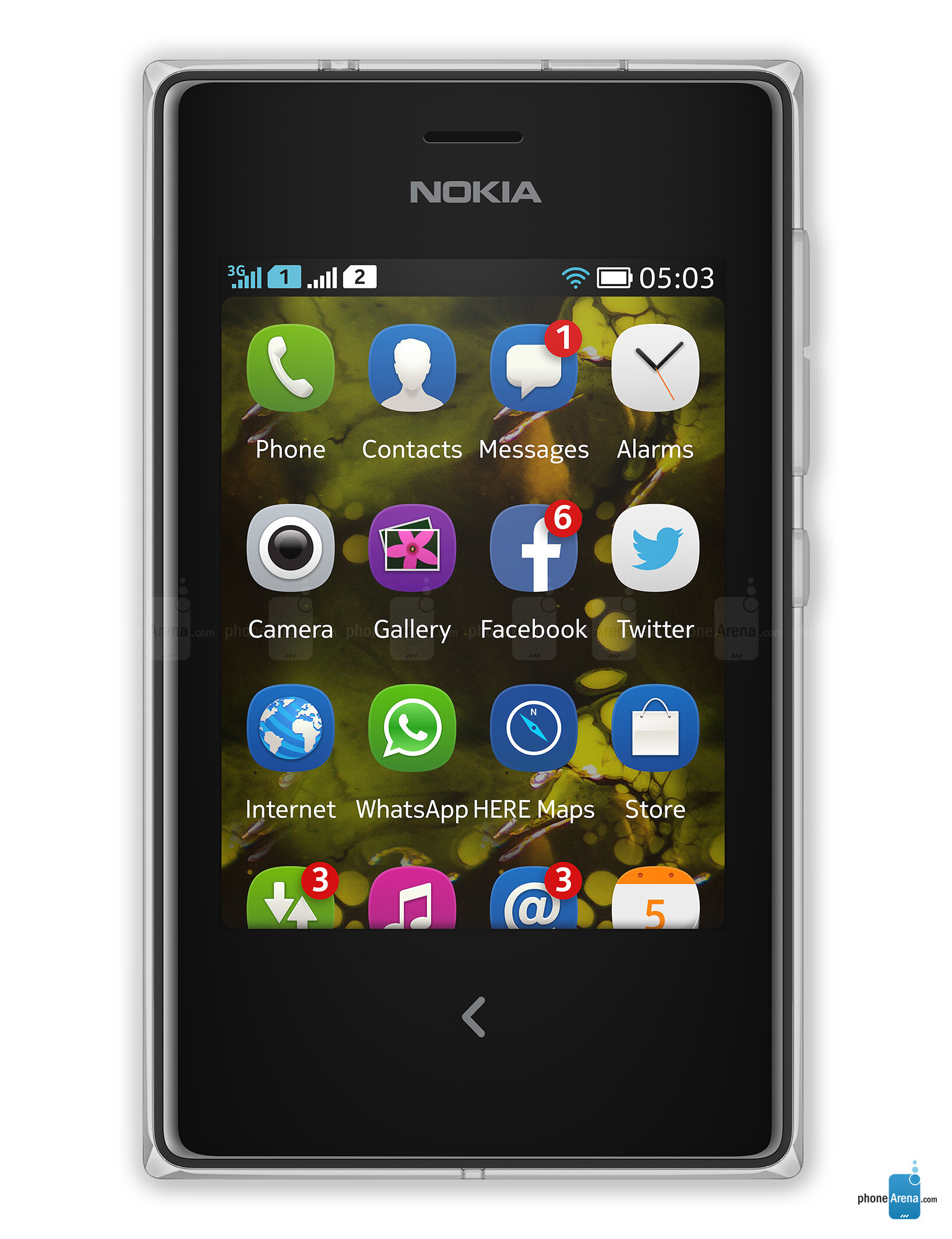 nokia asha 503 specs HTC Touch 3G HTC Touch Dual