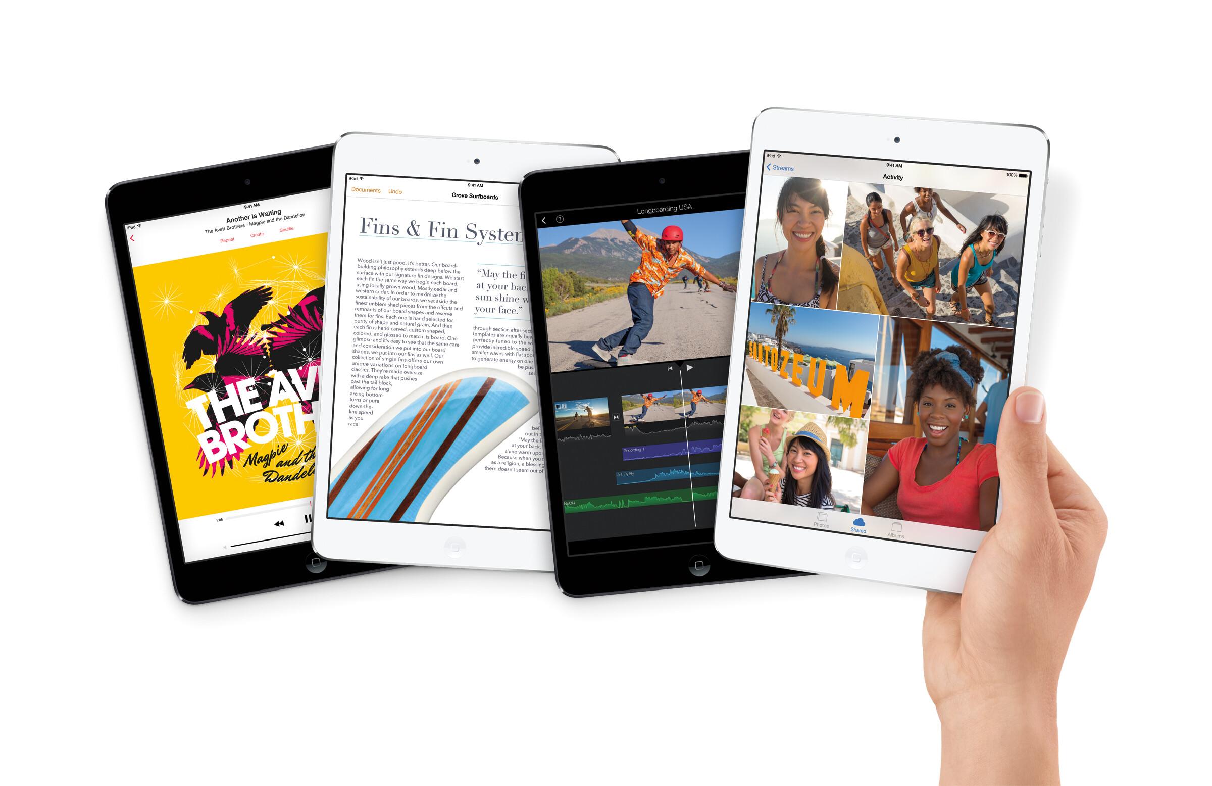 Ipad Retina: Apple IPad Mini 2 Specs