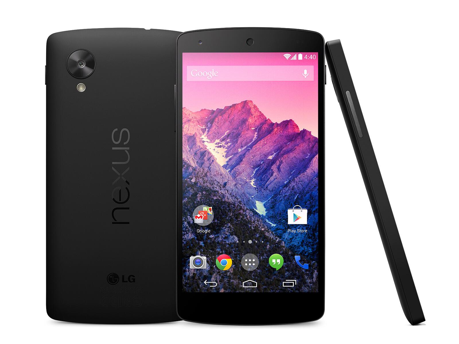 Google Nexus 5 specs