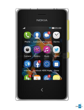 Nokia Asha 500 specs