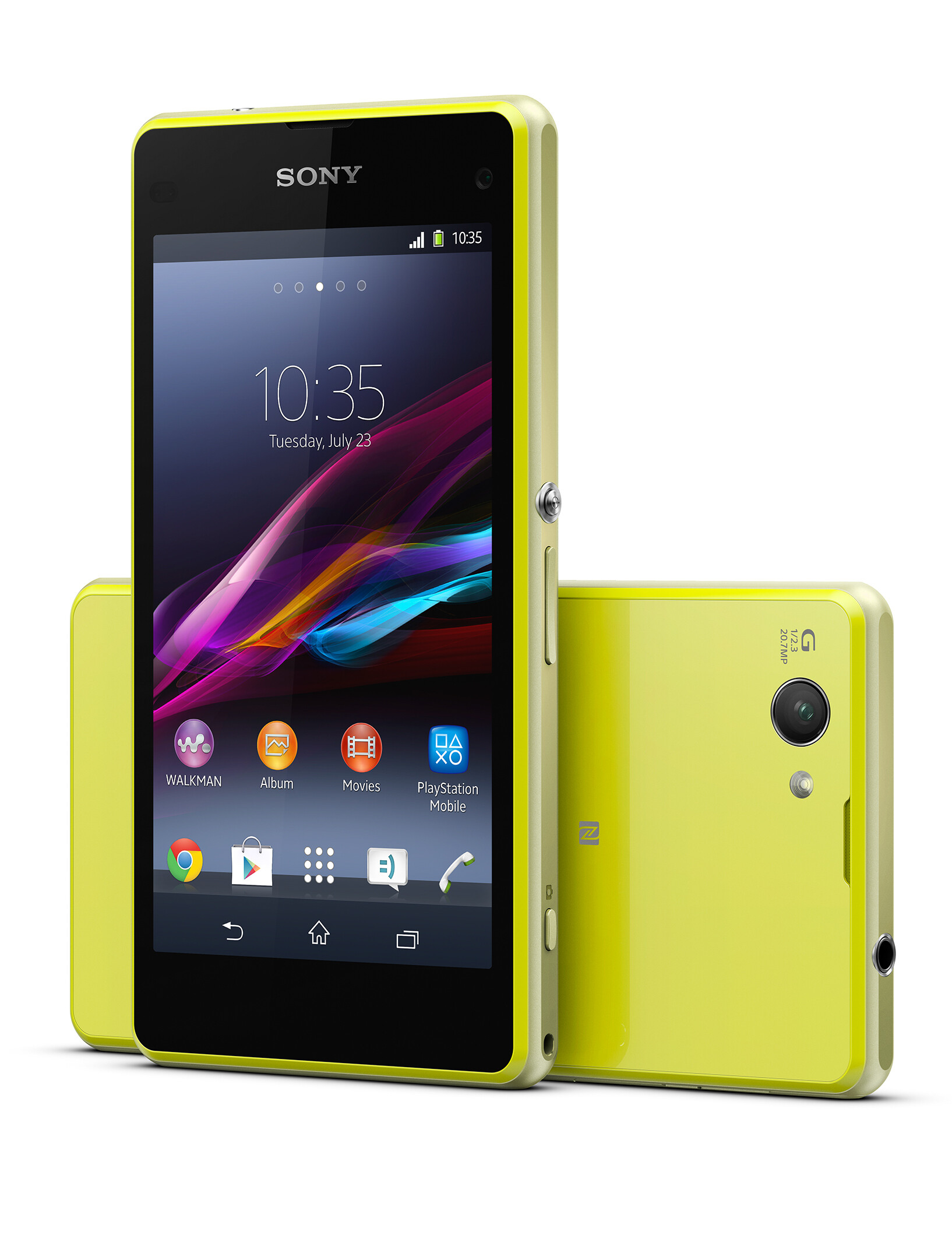 sony lets you win an xperia z1 compact and a smartband. Black Bedroom Furniture Sets. Home Design Ideas