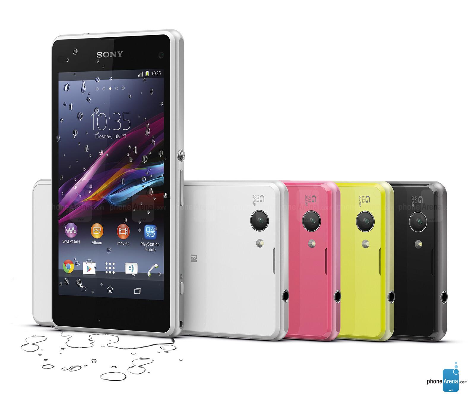 Sony Xperia Z1 pact 3