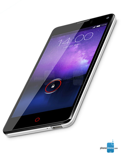 zte nubia 5s mini sits the slot