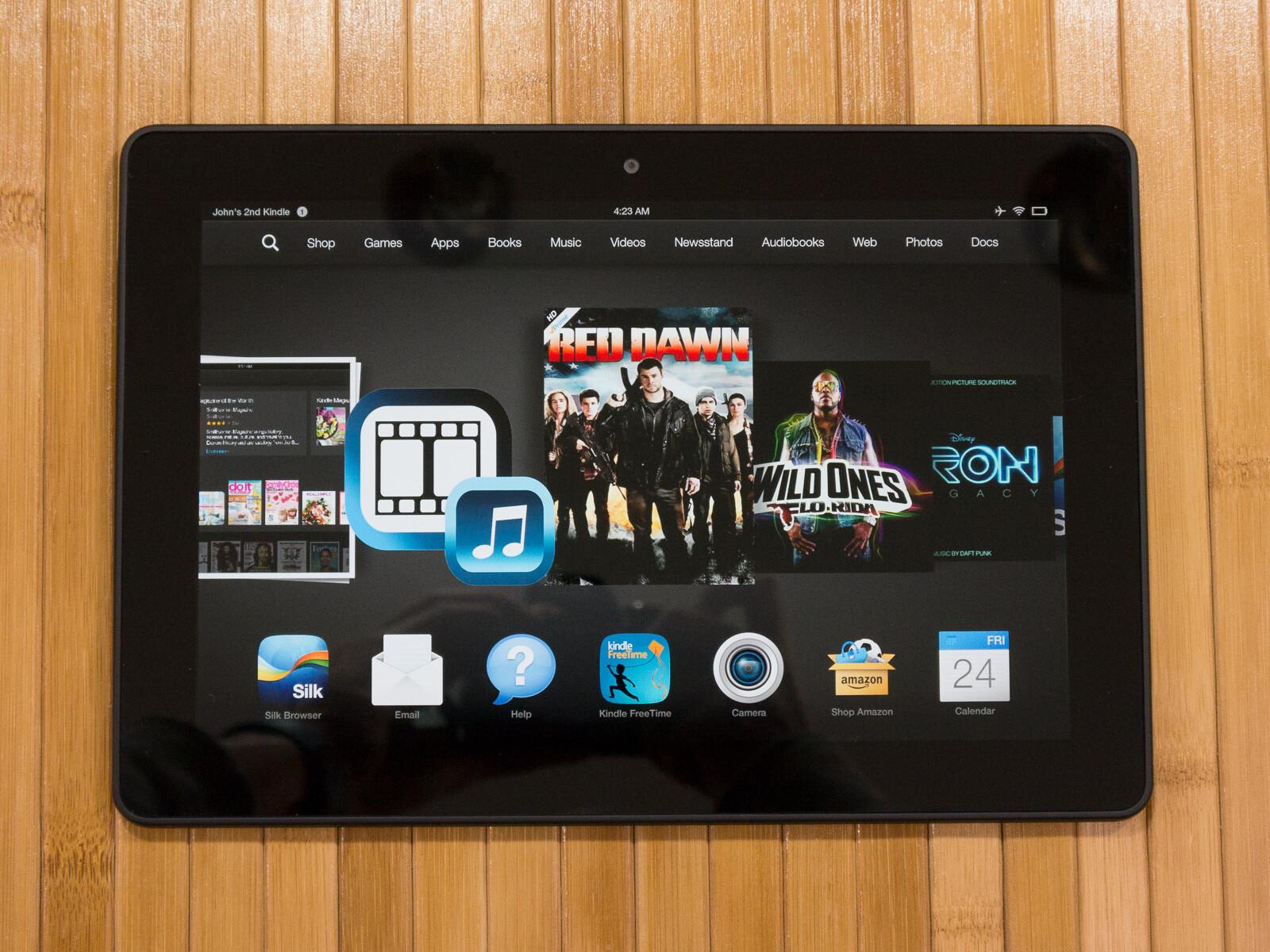 Amazon Kindle Fire HDX 8.9 specs