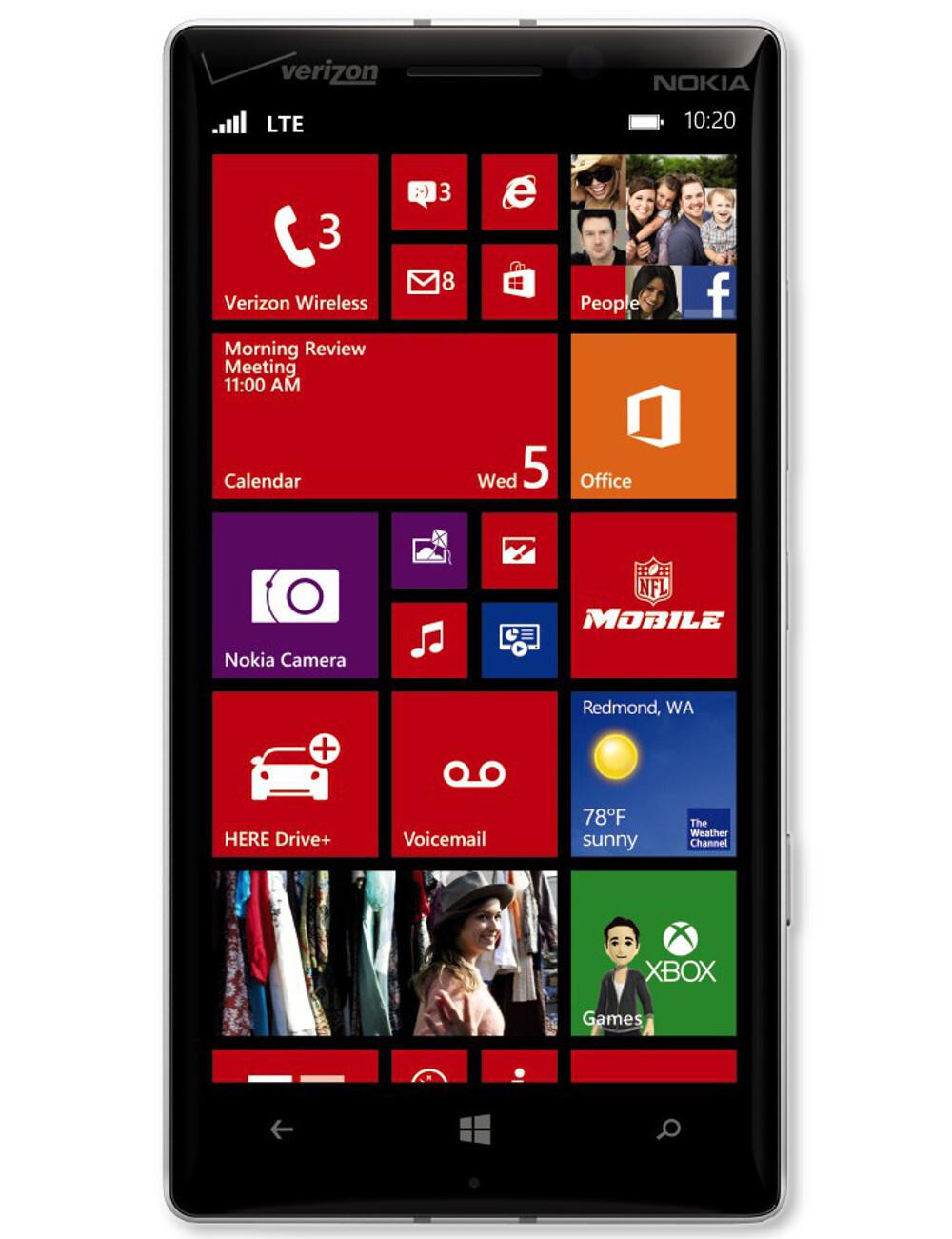Nokia Lumia Icon Specs