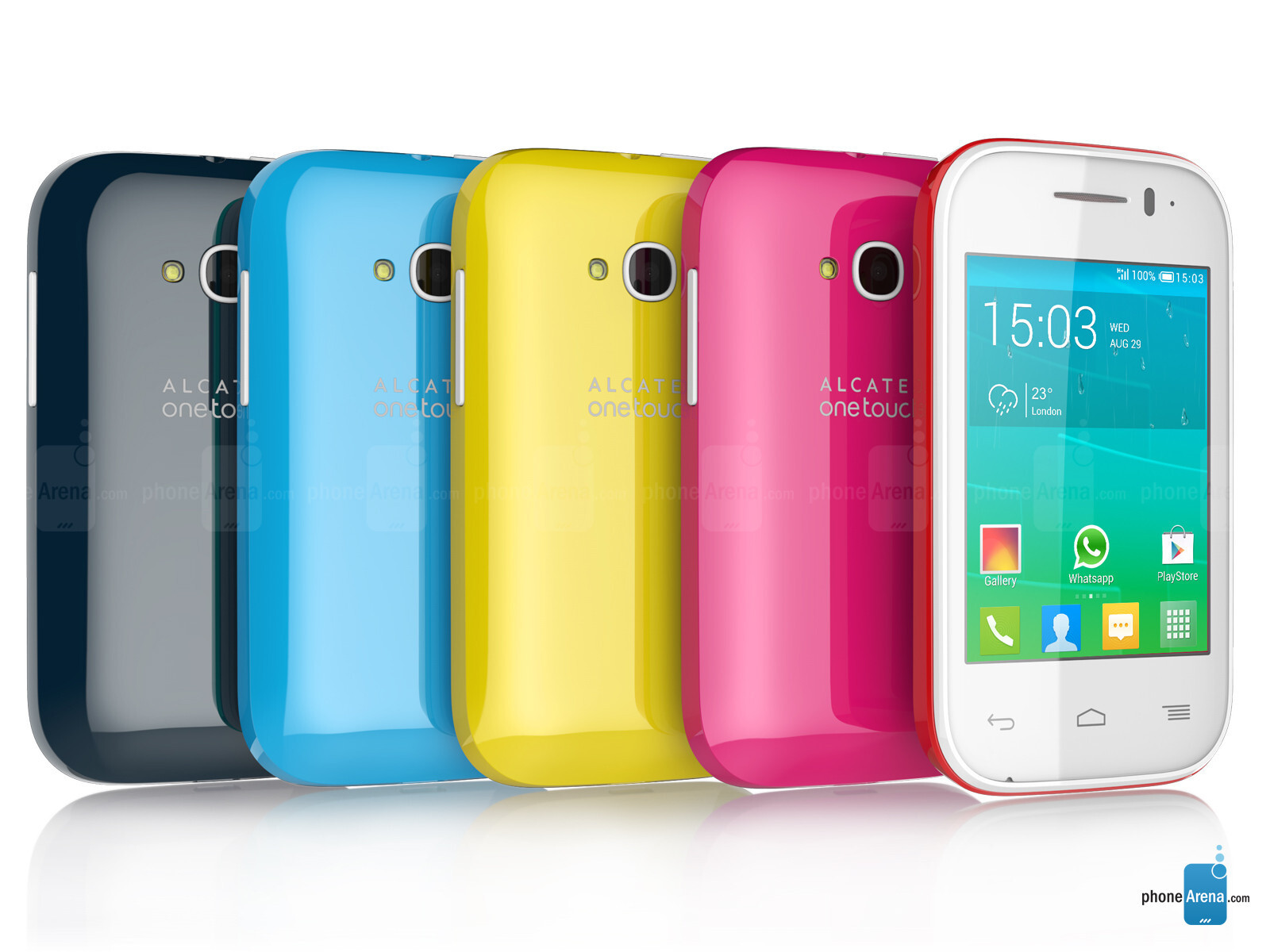 Alcatel Onetouch Pop Fit Specs