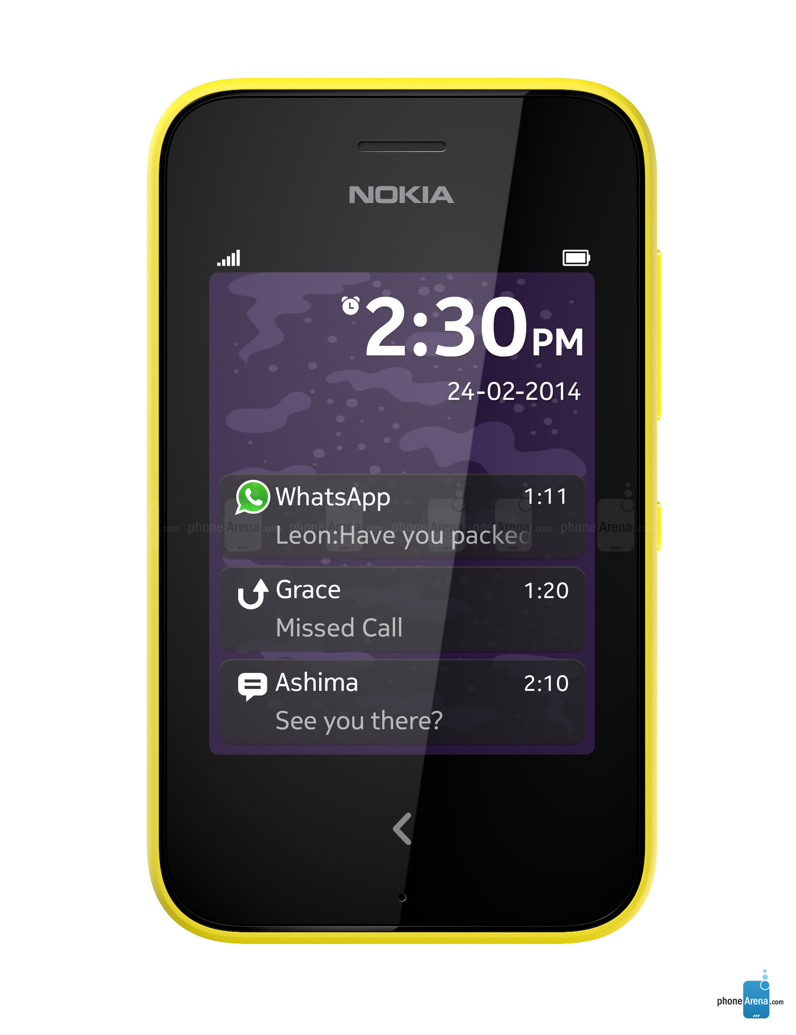 Nokia Asha 230 Specs