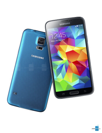Samsung Galaxy S5 phone gallery