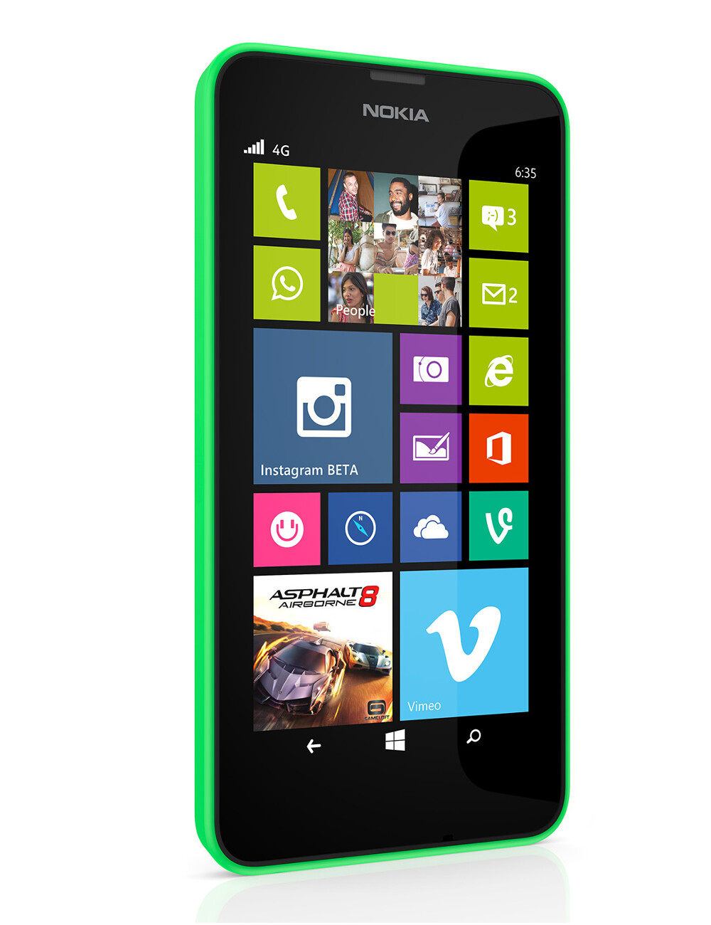 Prepaid telecom operator virgin mobile usa will soon start selling - Nokia Lumia 635