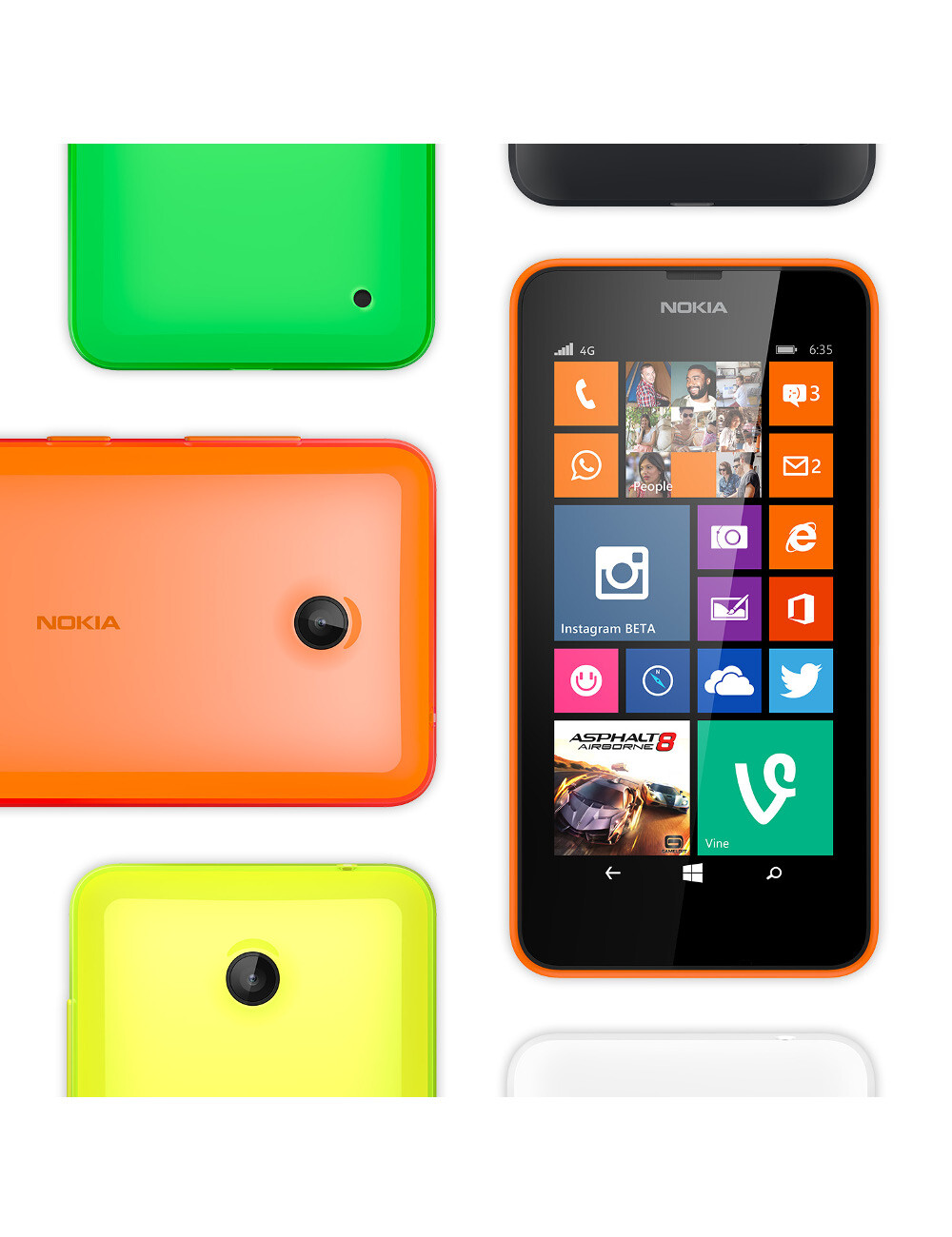 Nokia and Microsoft Talk about Phones