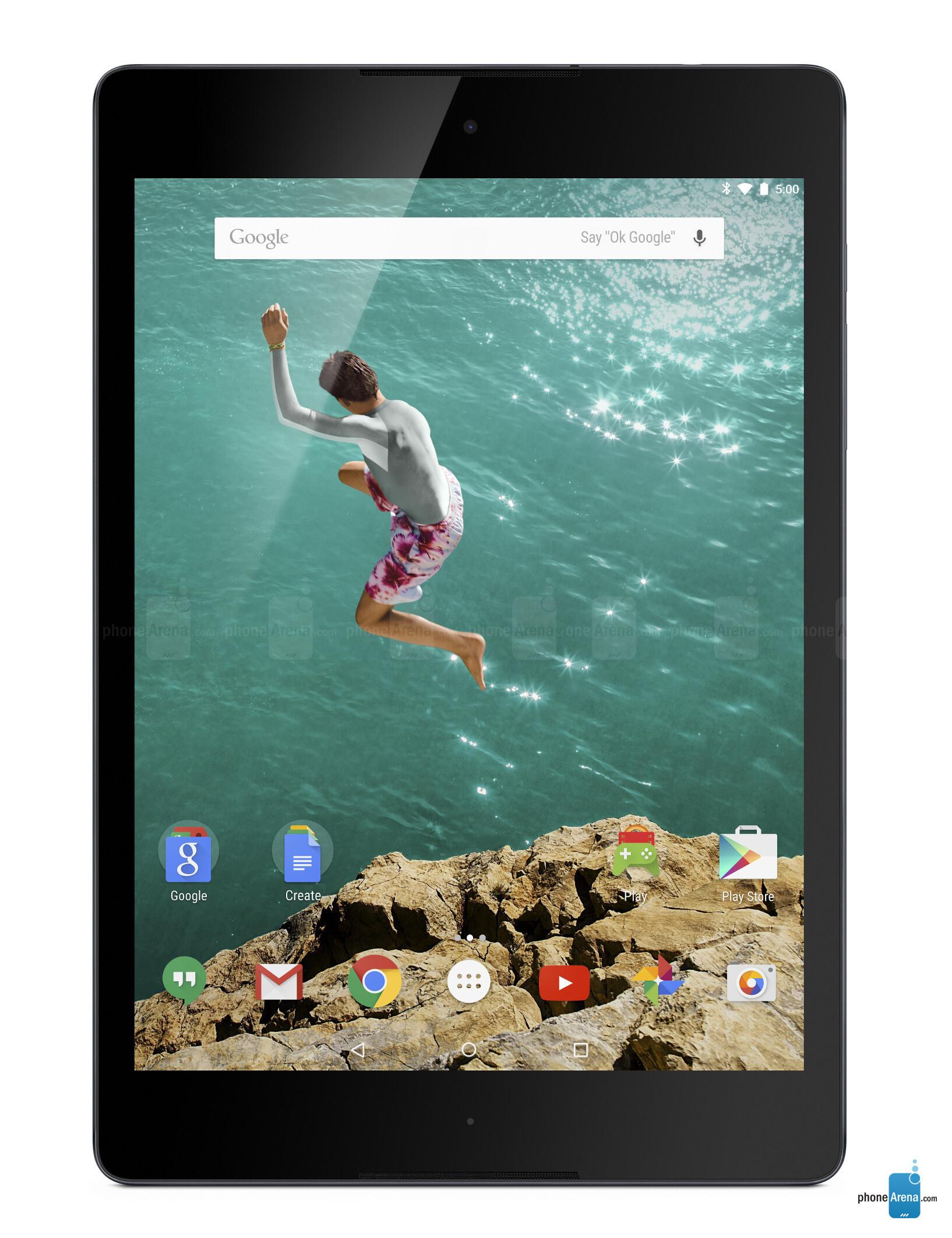 Google Nexus 9 specs
