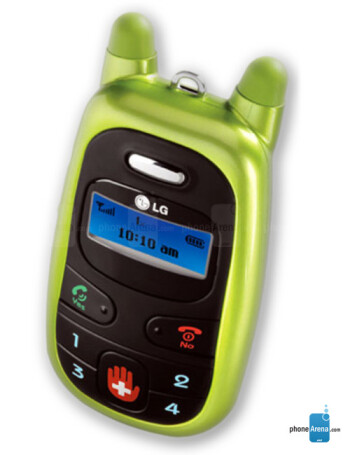 lg migo manual user guide rh phonearena com LG Migo VX-1000 Manual LG Migo Year Released