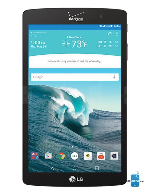 LG G Pad X- chiếc máy tính bảng mới độc quyền của Verizon