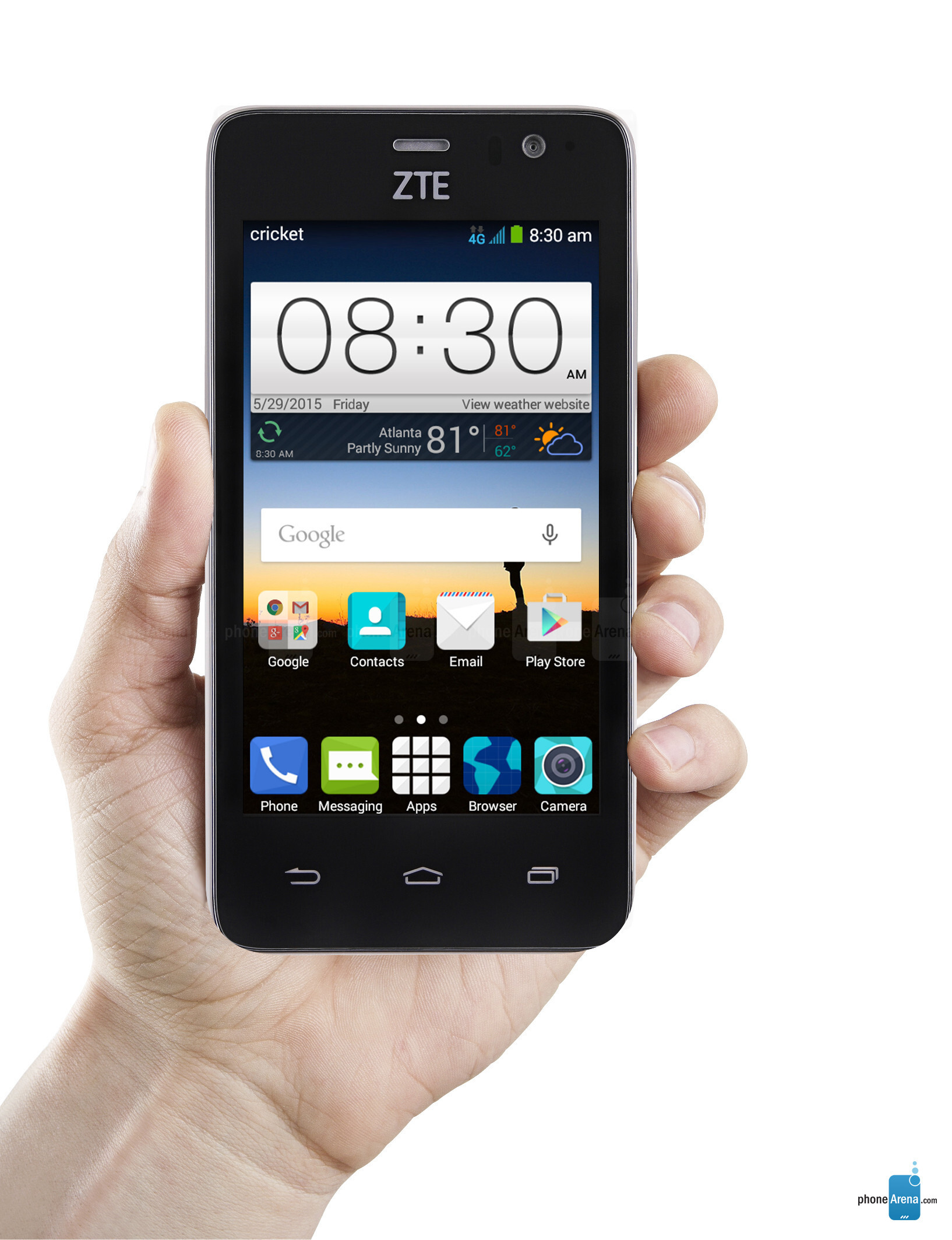 Recognition zte sonata 3 stuck on cricket screen will use