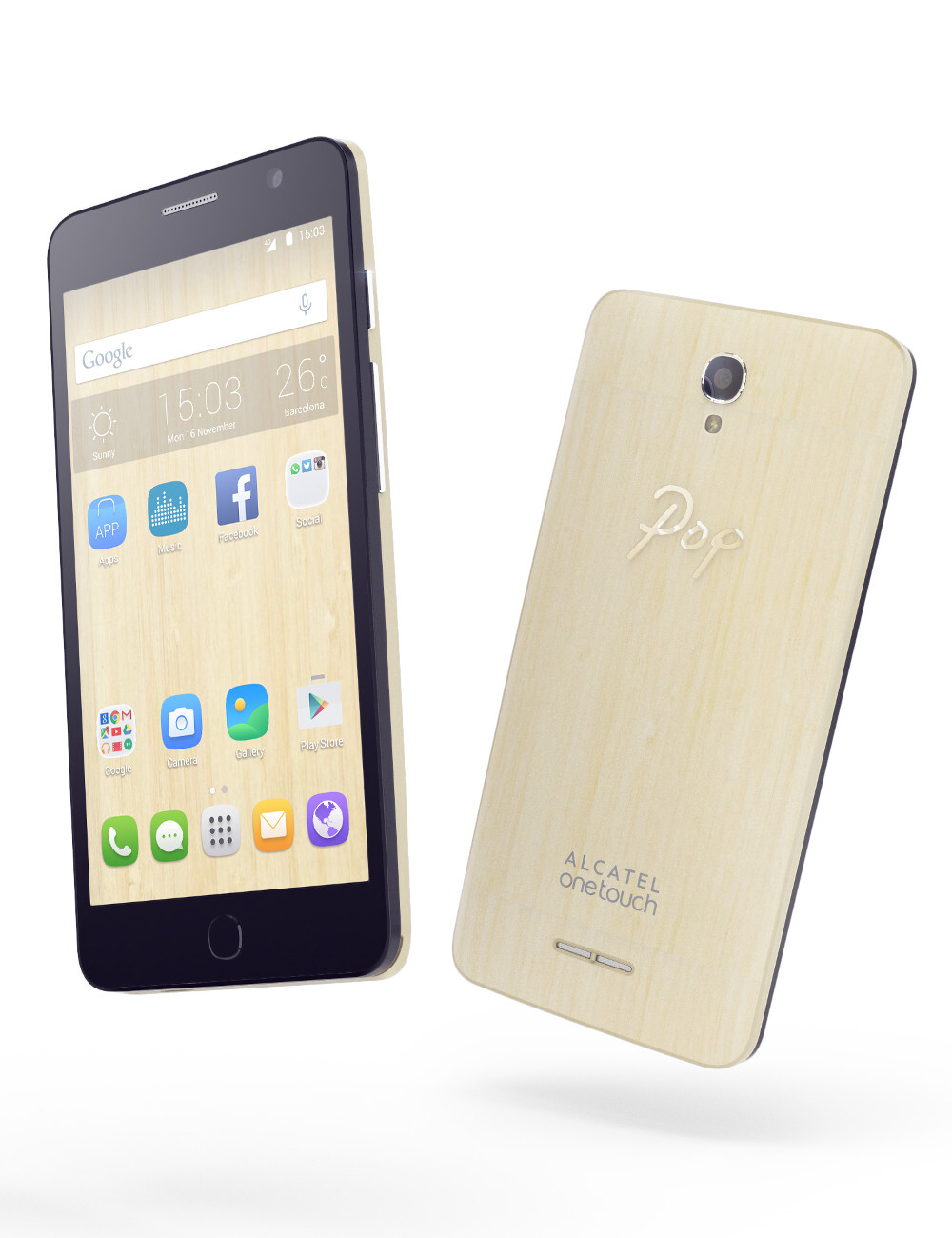 Alcatel touch and type android