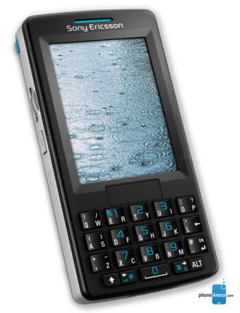sony ericsson m600 manual user guide rh phonearena com Sony Ericsson P990 Sony Ericsson K850i