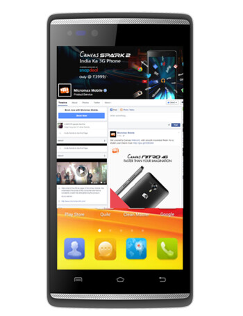 Micromax Canvas Fire 4G