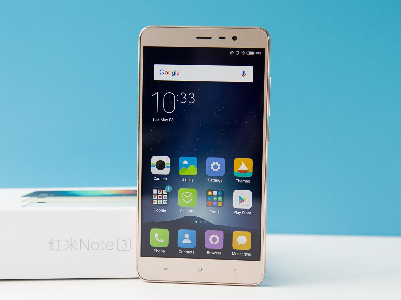 Xiaomi Redmi Note 3 Photos Pro 32 Grey