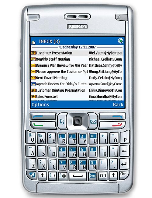 nokia e62 photos rh phonearena com Nokia E52 Nokia E63