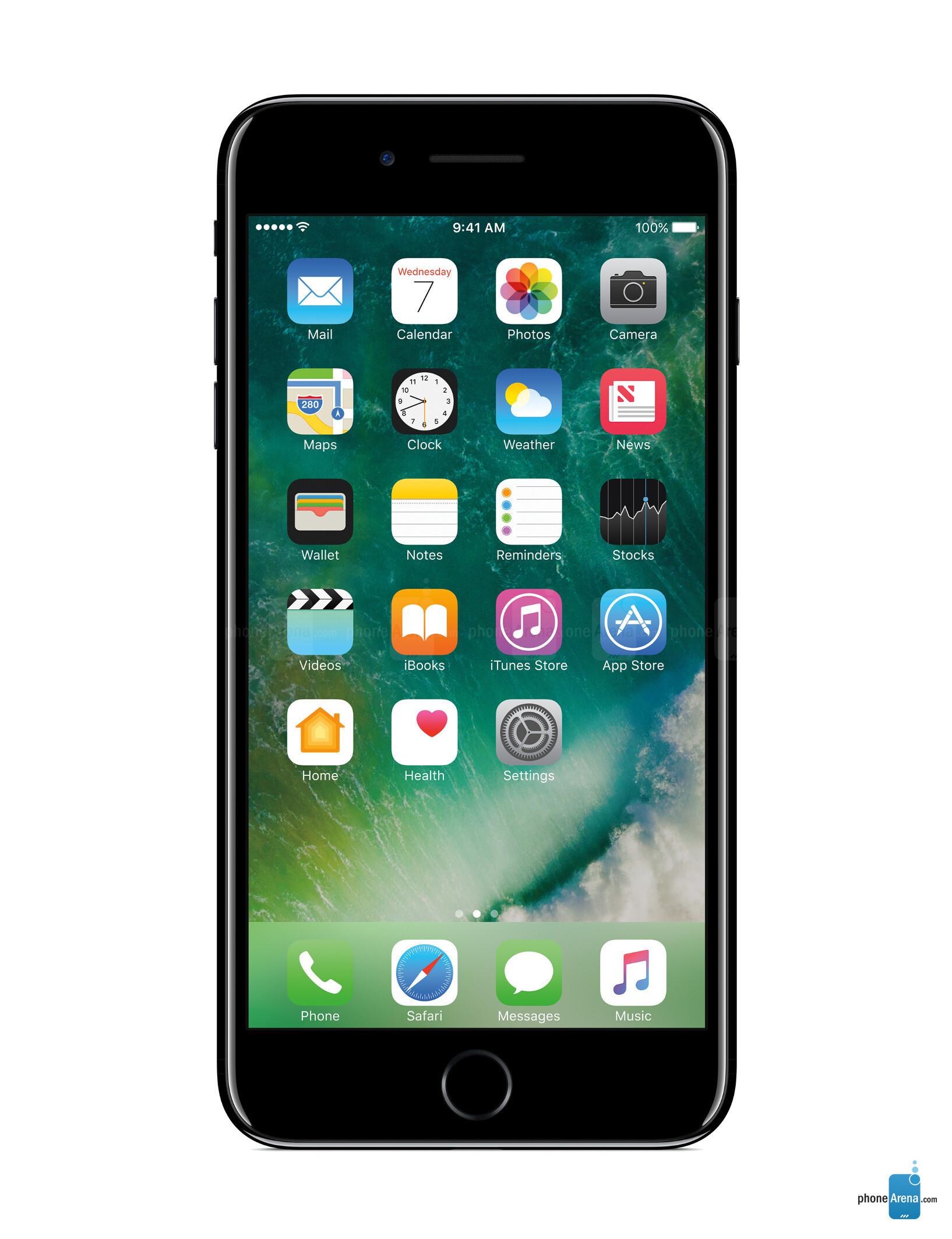 Apple iPhone 7 Plus size comparison versus iPhone 6s Plus, Galaxy Note 7, LG V20, Nexus 6P, S7 ...