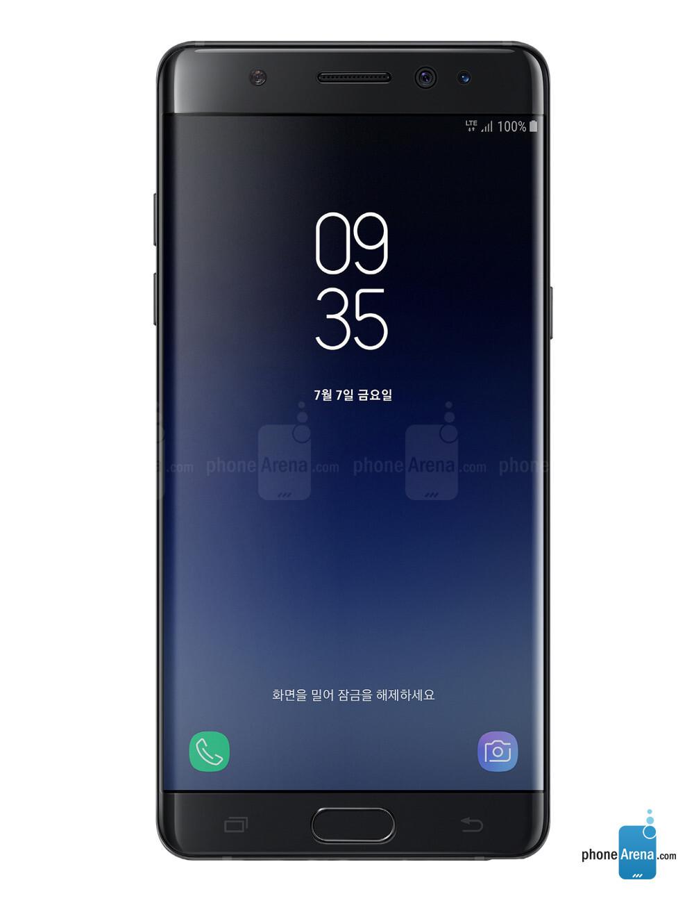 Samsung Galaxy Note Fan Edition Specs