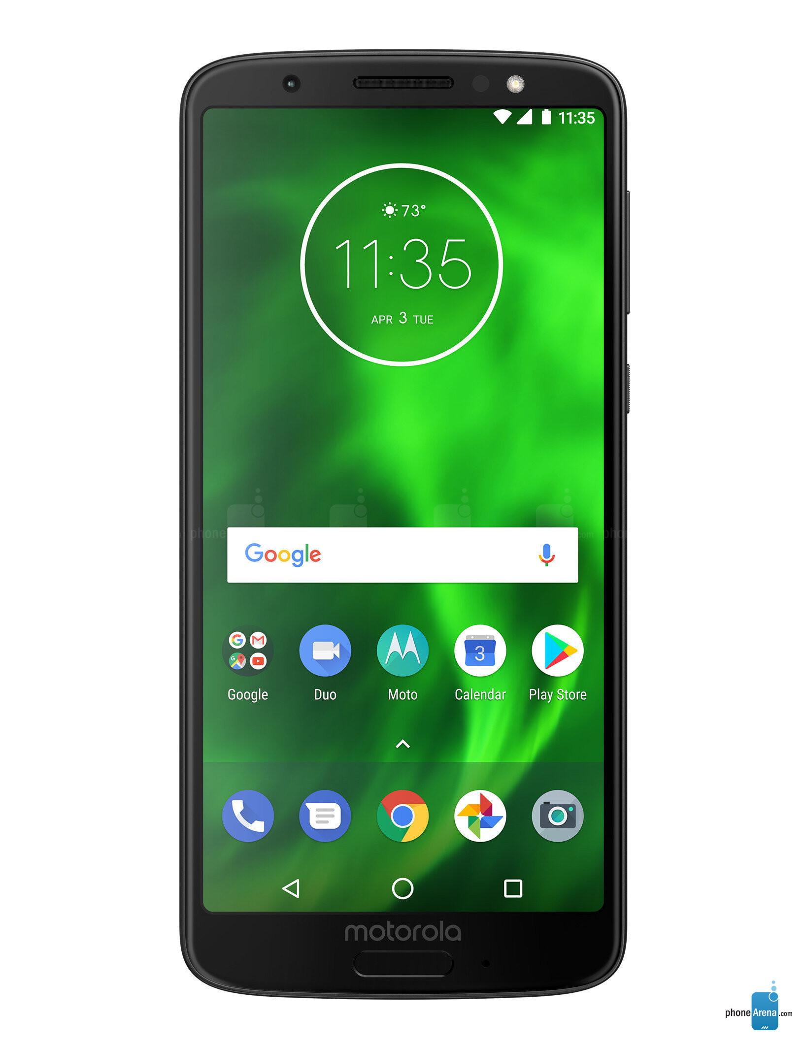 Motorola Moto G6 specs