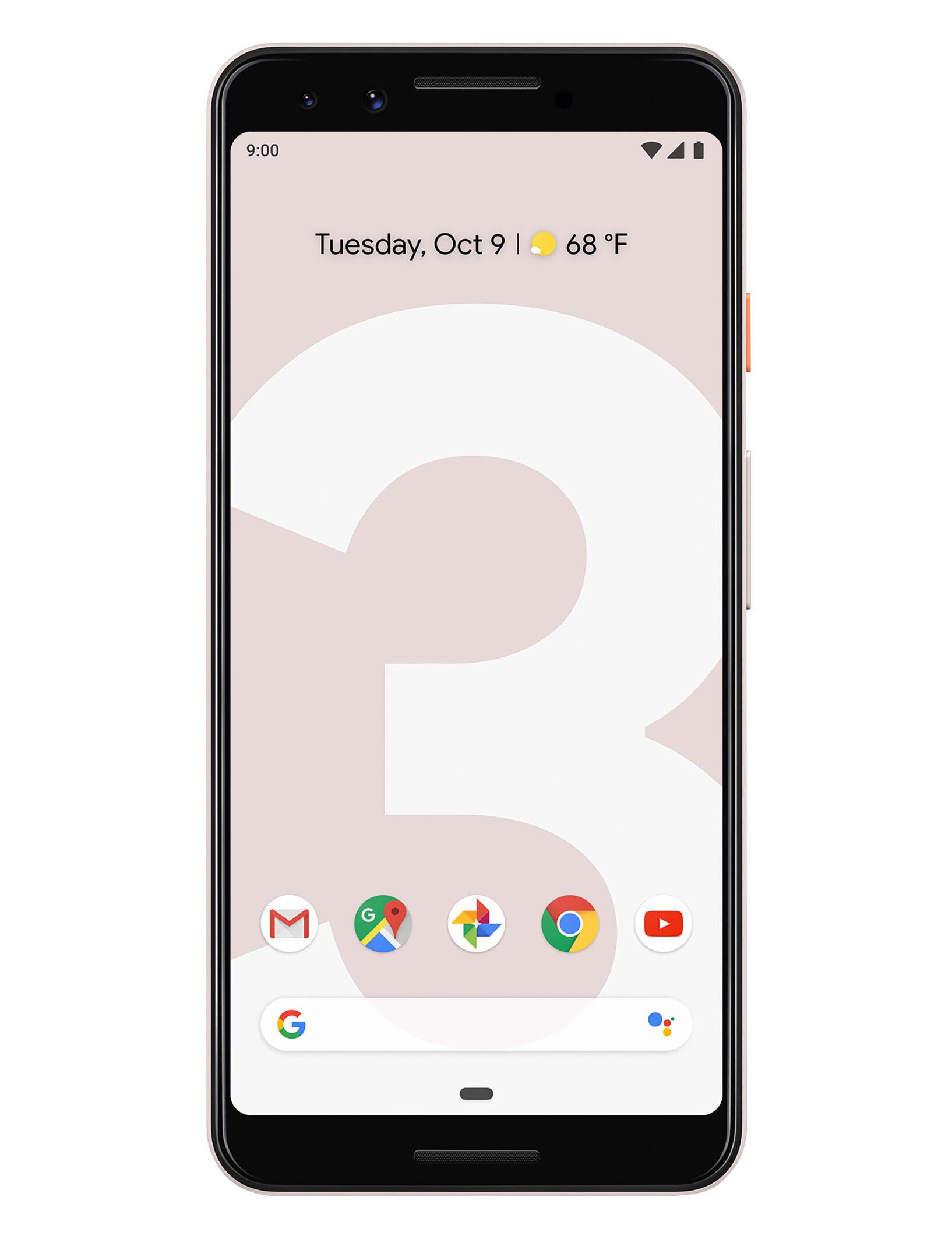 Google Pixel 3 full specs