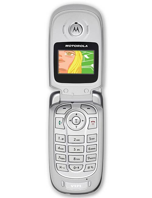 Motorola v170 cell phone manual