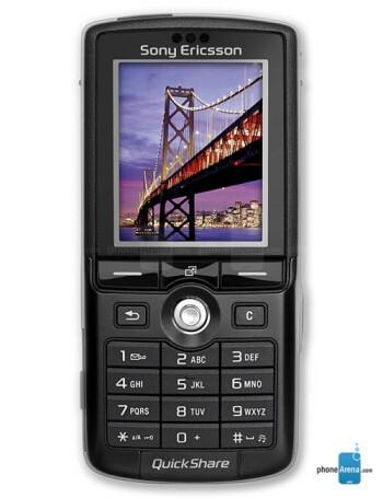 Sony Ericsson K750 specs