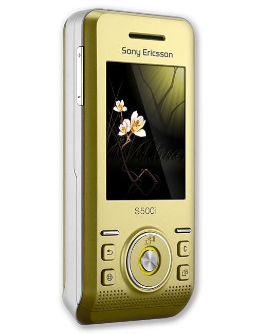 Sony Ericsson S500 specs