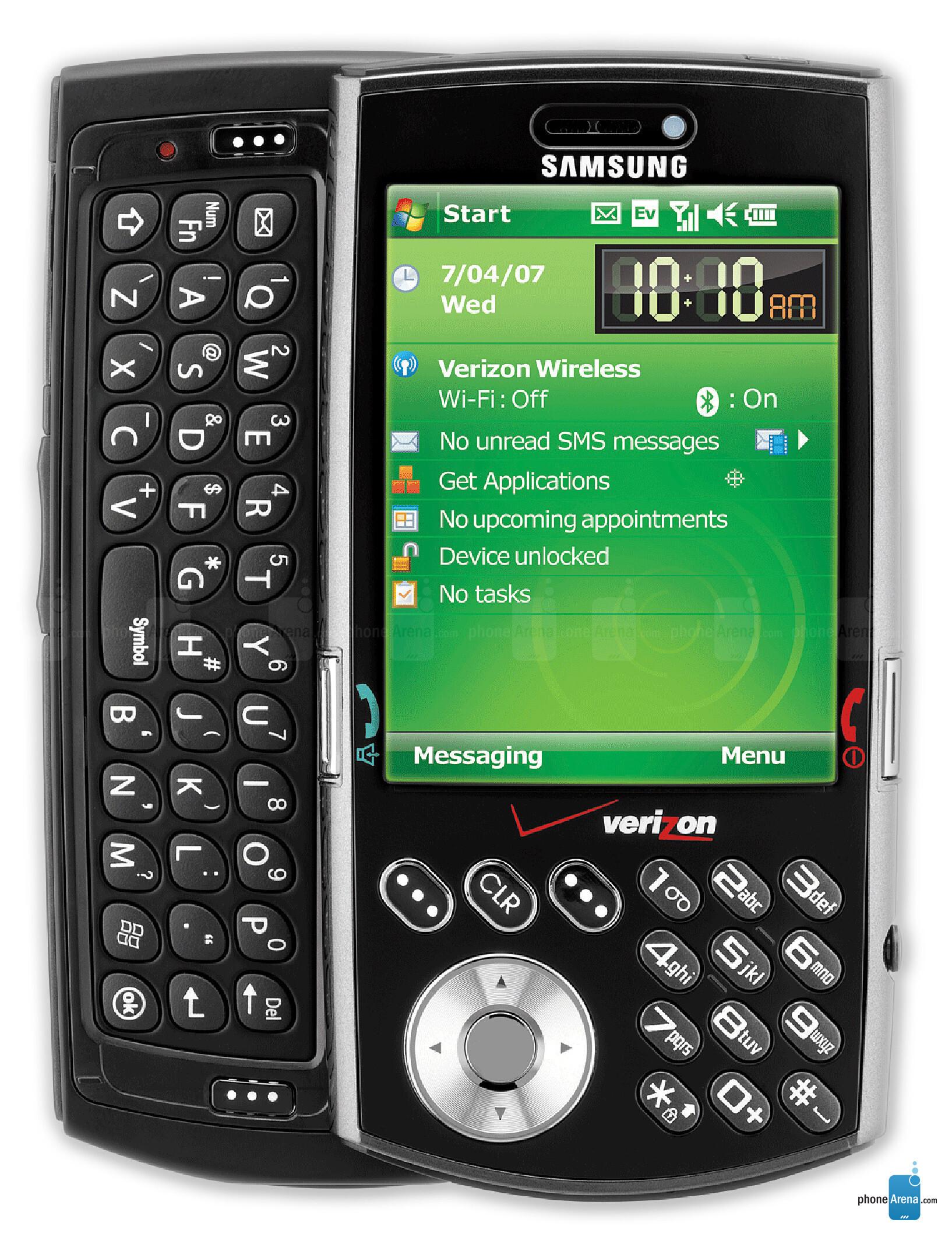 Samsung sch-i760 user manual pocket pc central.
