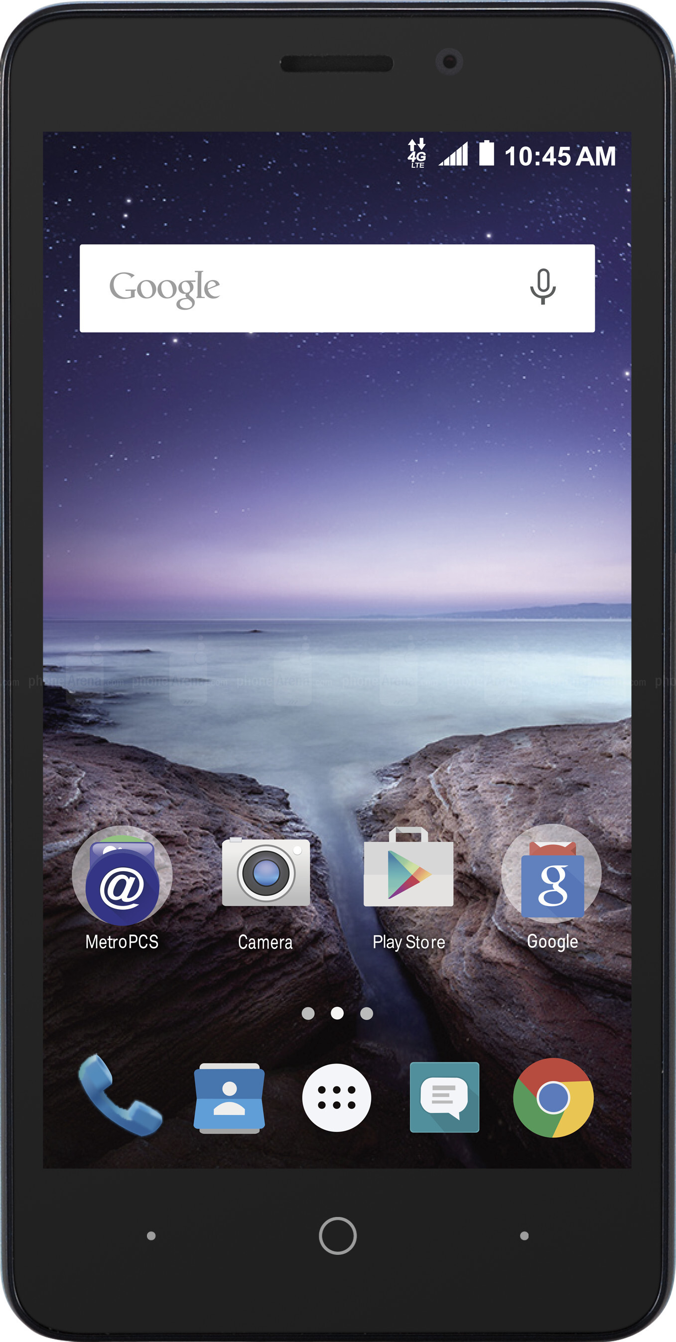 Kyocera Hydro Wave Vs Zte Avid Plus Visual Phone Size