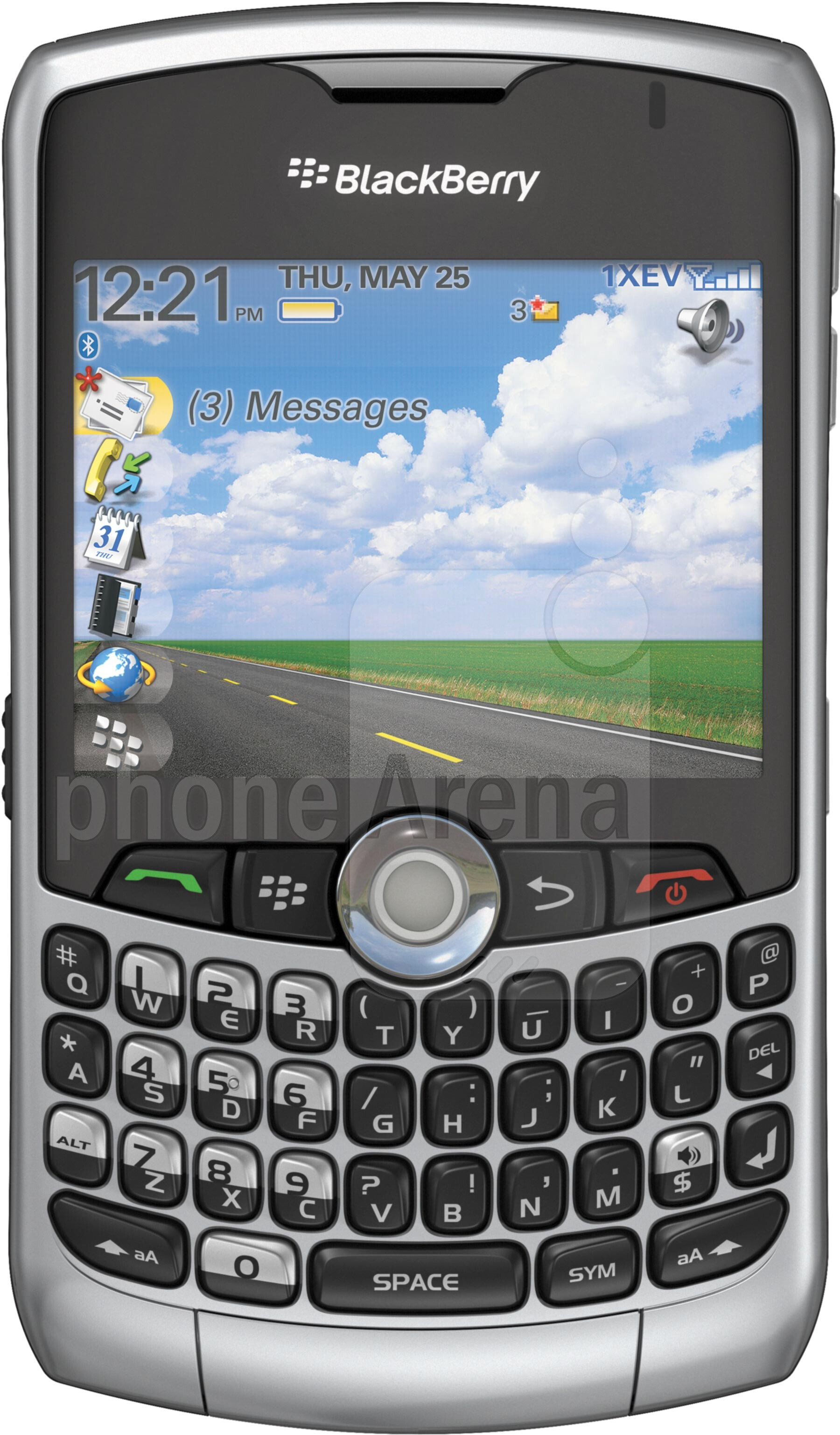 blackberry curve 8330 size real life visualization and comparison rh phonearena com Verizon BlackBerry BlackBerry 8330 Applications