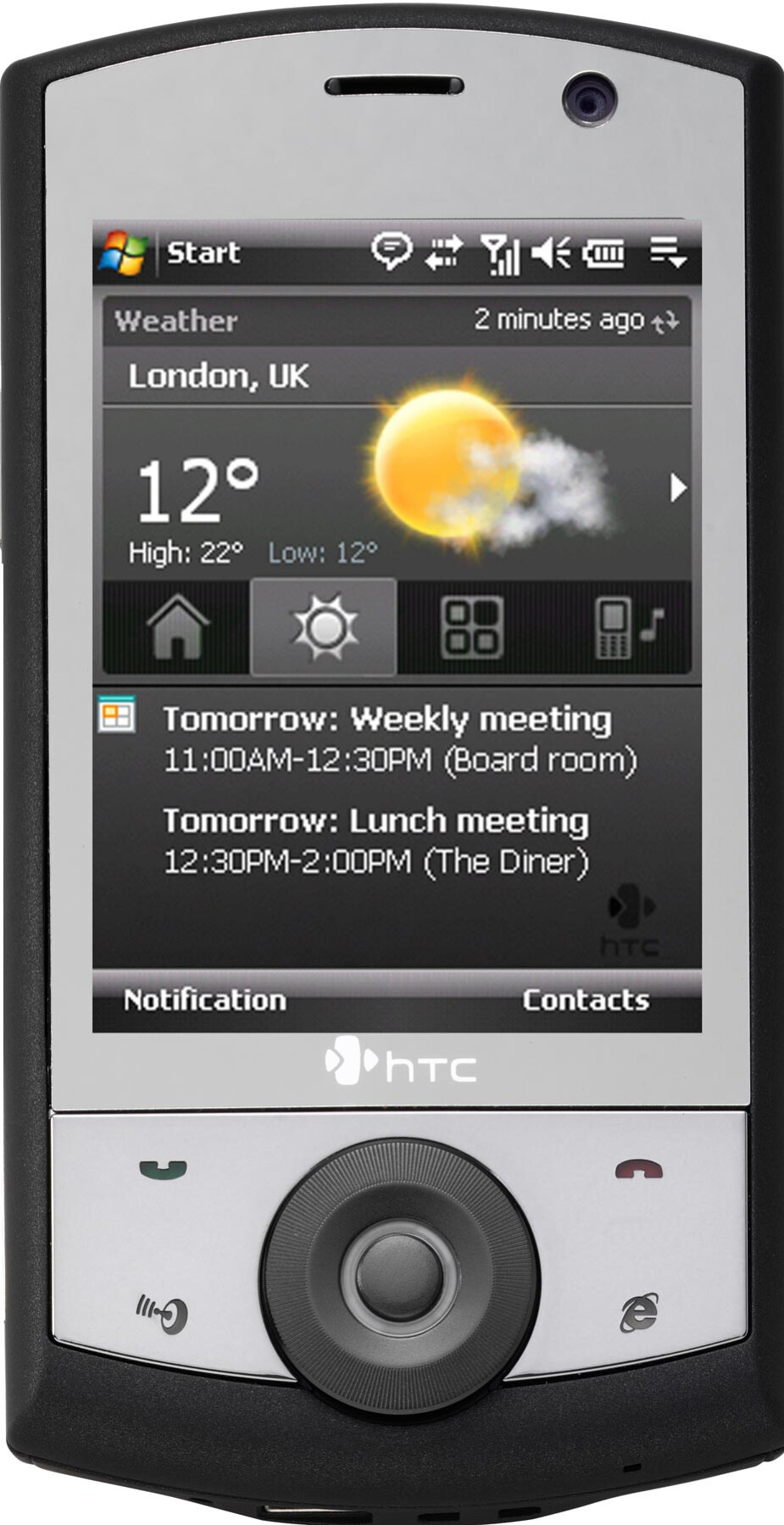 HTC Touch Cruise