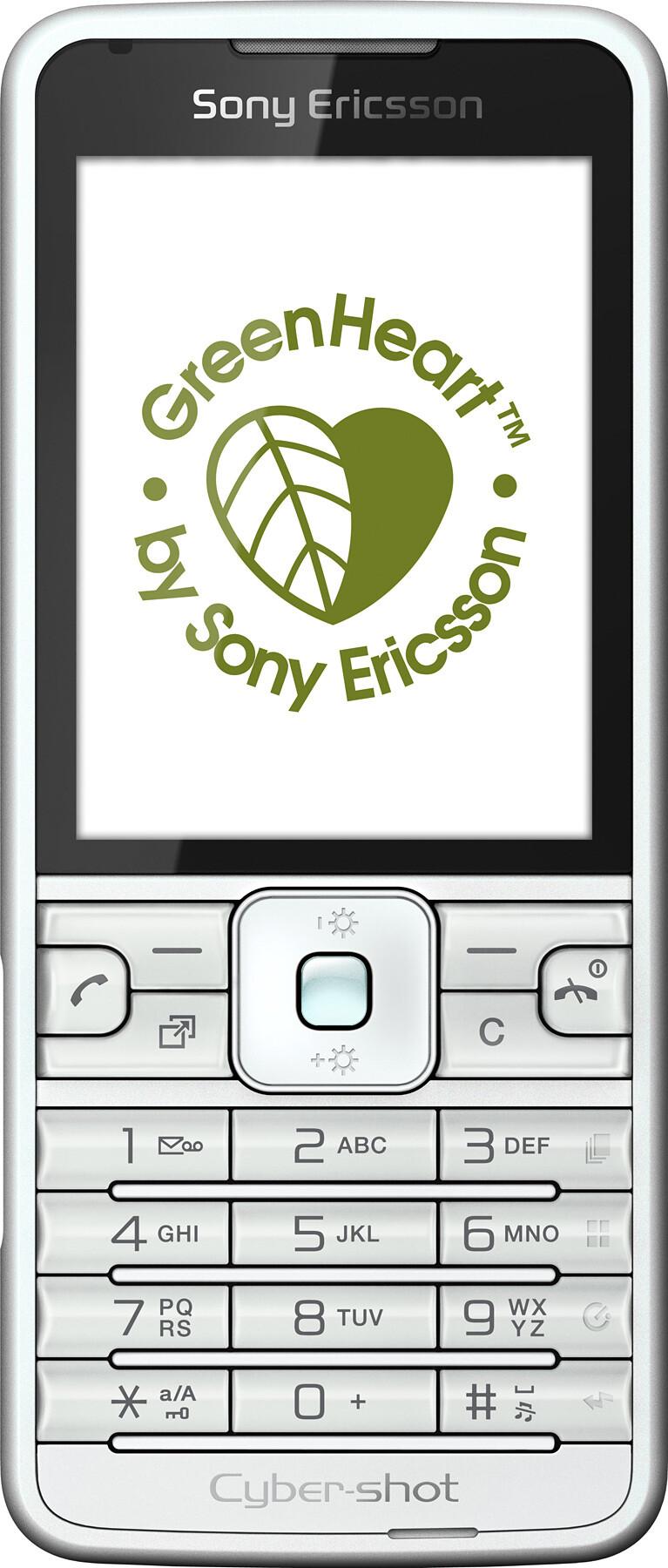 Sony Ericsson C901 GreenHeart