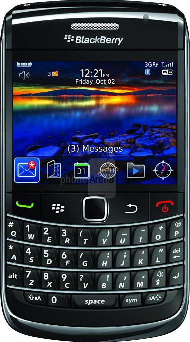 BlackBerry Bold 9700 Size