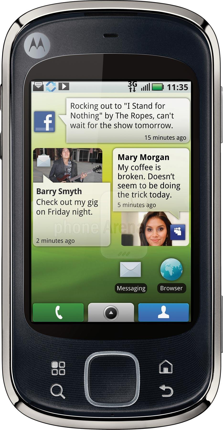 Motorola CLIQ XT