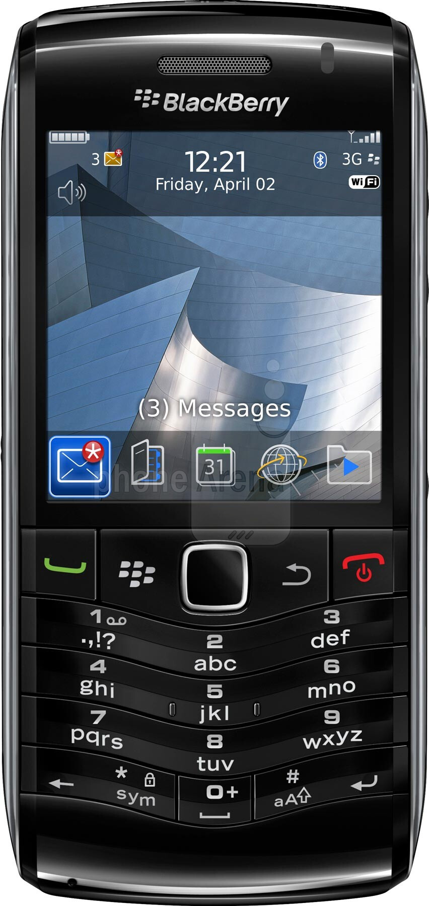 blackberry pearl 9105 size real life visualization and comparison rh phonearena com BlackBerry Pearl 9100 BlackBerry Pearl 8100