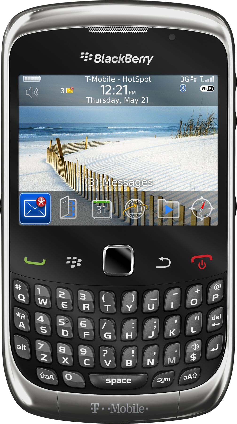 BlackBerry Curve 3G T-Mobile