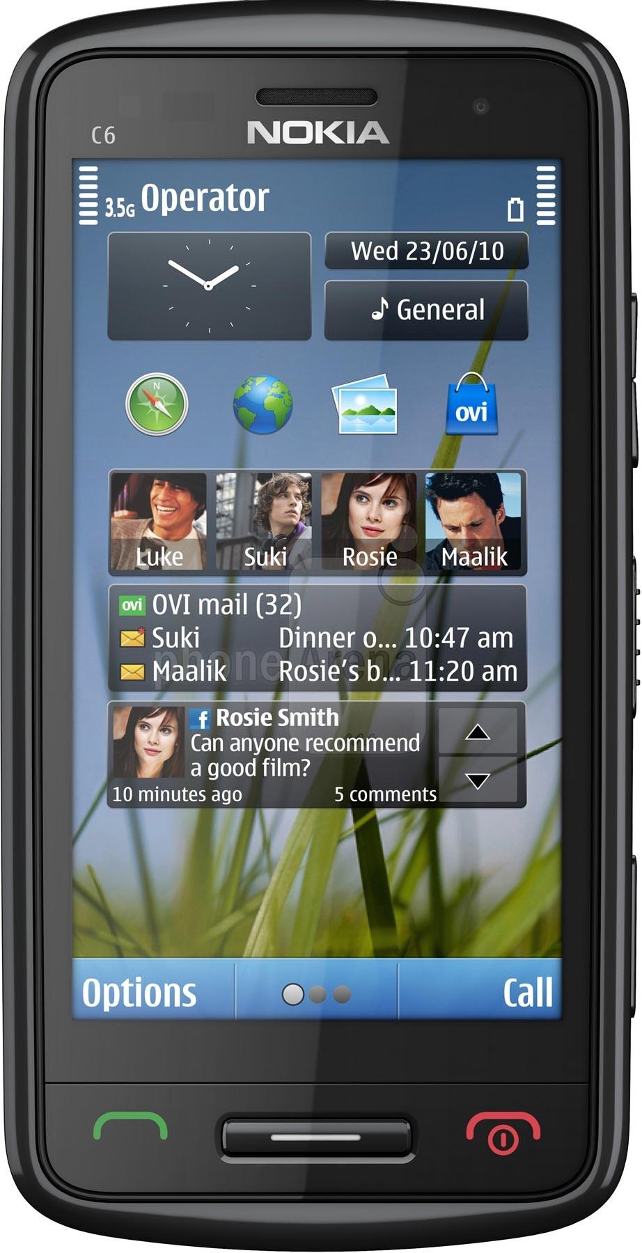 Sizzling Hot Nokia C6